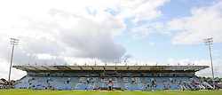 General view of Sandy Park Stadium prior to the start of the game.  - Mandatory byline: Alex Davidson/JMP - 07966386802 - 05/09/2015 - RUGBY - Sandy Park Stadium -Exeter,England - Exeter Chiefs v Gloucester Rugby - Pre-Season Friendly