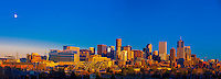 Panoramic view, Downtown Denver, Colorado USA.