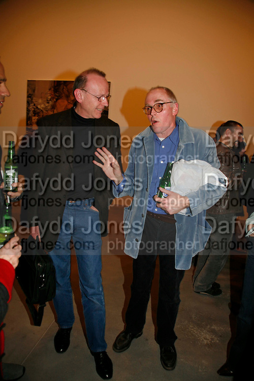 ANTONY MCCALL AND RICHARD WENTWORTH, New work by Cecily Brown. Gagosian. Brittania St. London. 31 March 2006. ONE TIME USE ONLY - DO NOT ARCHIVE  © Copyright Photograph by Dafydd Jones 66 Stockwell Park Rd. London SW9 0DA Tel 020 7733 0108 www.dafjones.com