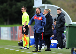 Marco Chiavetta assistant coach for Bristol City Women givers orders from the side line - Mandatory by-line: Nizaam Jones/JMP- 31/03/2019 - FOOTBALL - Stoke Gifford Stadium - Bristol, England - Bristol City Women v Reading Women - FA Women's Super League 1