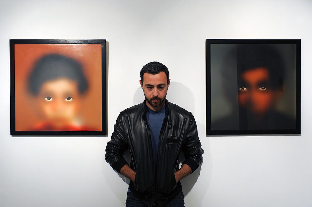 Photo artist Aldo Guerra in Tijuana, Baja California, Mexico.<br /> <br /> &copy; Stefan Falke<br /> www.stefanfalke.com<br /> La Frontera: Artists along the US Mexican Border