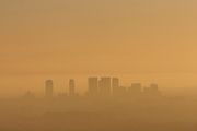 Sunset over Los Angeles, from Griffith Observatory