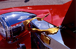 Hood ornament from early Corsair