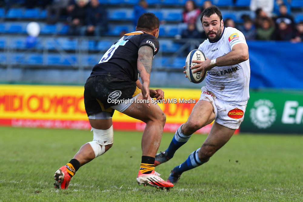 Thomas Combezou - 07.12.2014 - Castres / London Wasps - European Champions Cup<br />