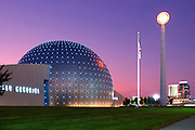 Basketball Hall of Fame in Springfield, Massachusetts.