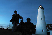 01/01/2006 The Ocracoke Island Lighthouse on Ocracoke Island, The Outer Banks, North Carolina. © Laura Mueller