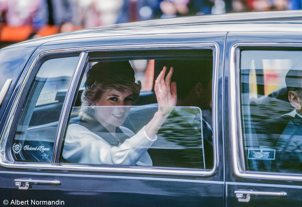 Lady Diana, Princess of Wales, Expo 86, Vancouver, British Columbia, Canada, 1986