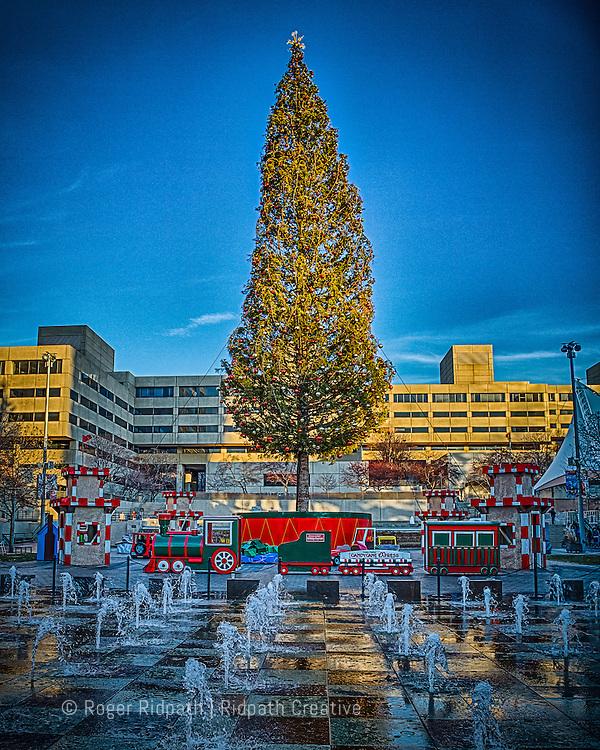 Mayor's Christmas Crown Center Kansas City Missouri