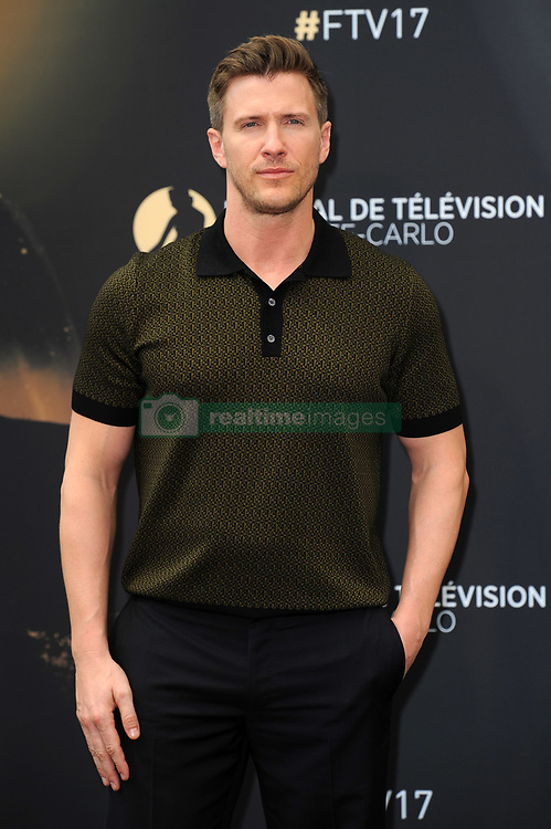 "Monte Carlo, 57th Festival of Television. Photocall ""Absentia"" pictured: Patrick Heusinger"