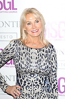 Carol Wright, MediaSkin Gifting Lounge, Salmontini Le Resto, London UK, 19 January 2015, Photo by Richard Goldschmidt