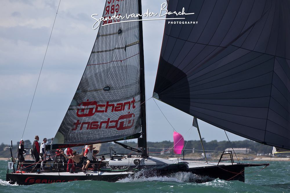 © Sander van der Borch. Cowes - England, first of August 2009. iShares cup. First day of racing.