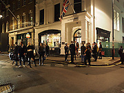 The Gentlemen's Journal Autumn Party, in partnership with Gieves and Hawkes- No. 1 Savile Row London. 3 October 2013