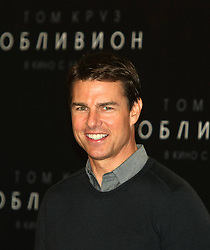 Tom Cruise during photocall and press-conference for science fiction film directed by Joseph Kosinski Oblivion, Hotel The Ritz-Carlton, Moscow, April 1, 2013. Photo by Imago / i-Images...UK ONLY..