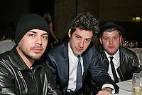 Stuart Zender, Mark Ronson and Daniel Merriweather
