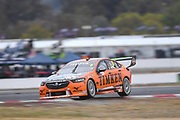 20th May 2018, Winton Motor Raceway, Victoria, Australia; Winton Supercars Supersprint Motor Racing; Nick Percat drives the number 8 Brad Jones Racing Holden Commodore ZB during race 14 of the 2018 Supercars Championship