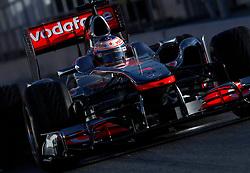 Motorsports / Formula 1: World Championship 2011, Testing in Barcelona, test, 03 Jenson Button (GBR, Vodafone McLaren Mercedes),