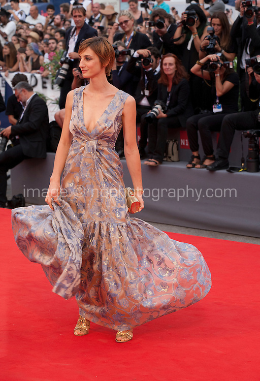 Francesca Inaudi at the gala screening for the film Black Mass at the 72nd Venice Film Festival, Friday September 4th 2015, Venice Lido, Italy.