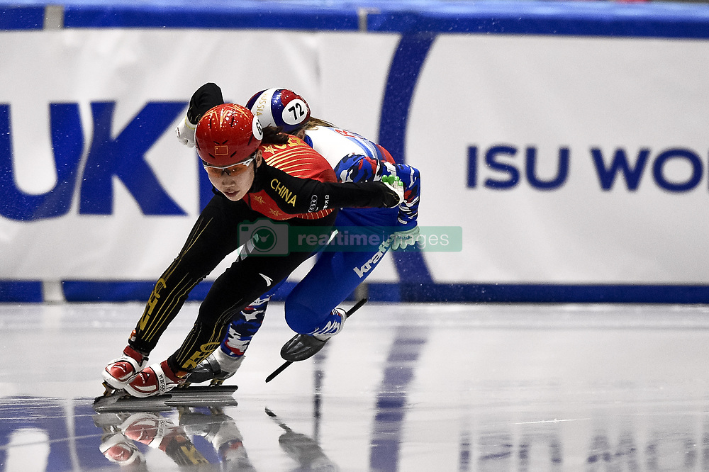 February 9, 2019 - Torino, Italia - Foto LaPresse/Nicolò Campo .9/02/2019 Torino (Italia) .Sport.ISU World Cup Short Track Torino - Ladies 500 meters Final B .Nella foto: Yize Yang..Photo LaPresse/Nicolò Campo .February 9, 2019 Turin (Italy) .Sport.ISU World Cup Short Track Turin - Ladies 500 meters Final B.In the picture: Yize Yang (Credit Image: © Nicolò Campo/Lapresse via ZUMA Press)
