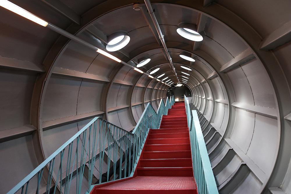 Inside the Atomium, Brussels, Belgium | Architecture & Interior Photographer Amsterdam