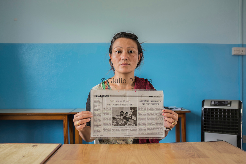 Kalplana Blon, whose mother, Chinimaya, 62 years old was arrested at the end of June with the accusaton of human trafficking and trying to converte the group of orfans she was taking care of