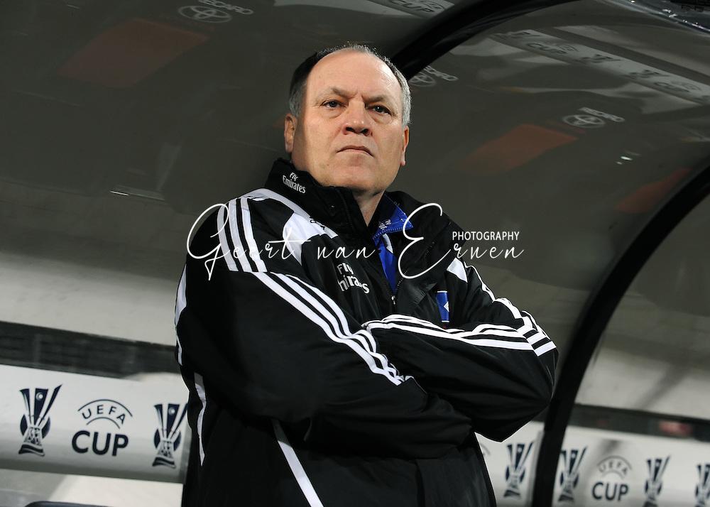18-02-2009: voetbal: NEC - Hamburger SV: Nijmegen: UEFA Cup<br /> HSV trainer Martin Jol<br /> Fotograf: Geert van Erven