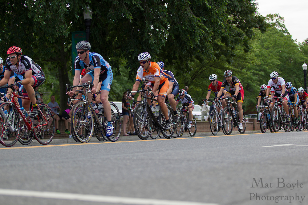 2012 June 9: Pitman, NJ:  Third annual Bob Riccio Tour De Pitman - 35 + master's race. (photo / Mat Boyle)