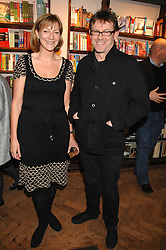 ROSE PRINCE and NIGEL SLATER at a party to celebrate the publication of The New English Table by Rose Prince held at The Daunt Bookshop, Marylebone High Street, London on 9th April 2007.<br />