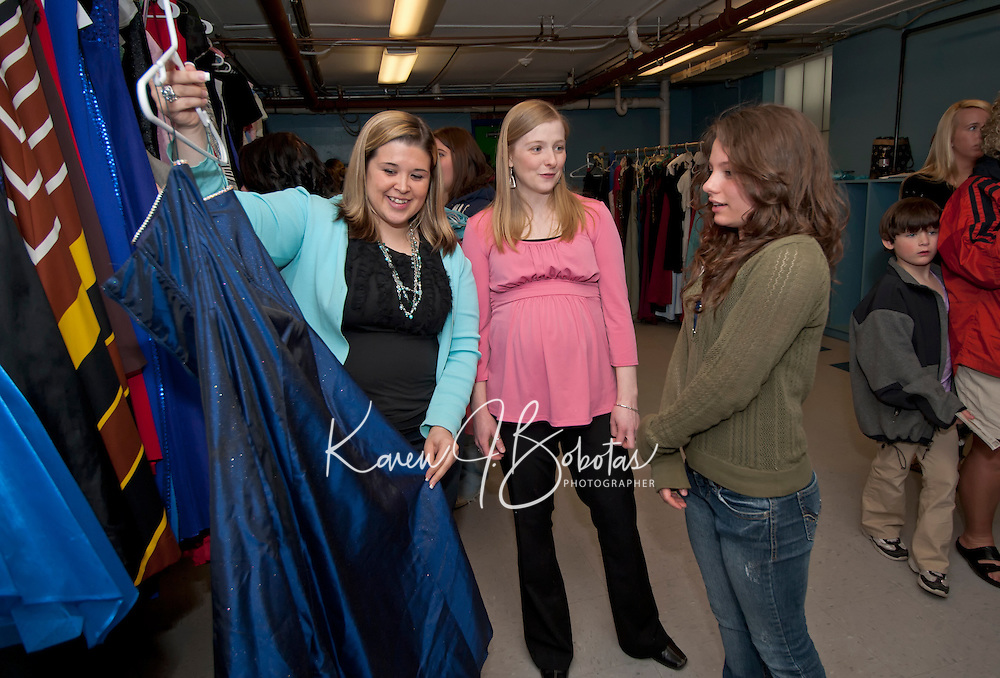 5th annual Gowns for Girls event at Franklin Community Center by Faith, Hope and Love Foundation