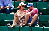 Spectateurs - 05.06.2015 - Jour 13 - Roland Garros 2015<br /> Photo : Dave Winter / Icon Sport