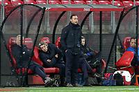 assistant-coach Denny Landzaat of AZ Alkmaar U23