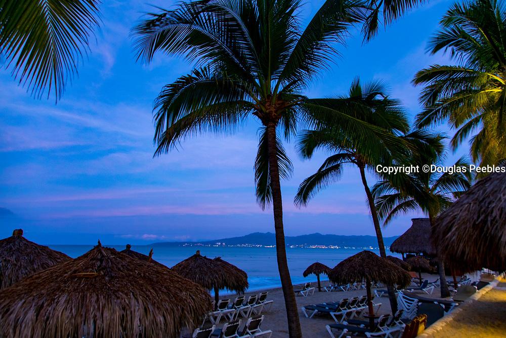 Sunset, Nuevo Vallarta, Bandera Bay,  Riviera Nayarit, Nayarit, Mexico, Marival Distinct Luxury Residences
