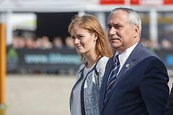 Devos Ingmar, President FEI, (BEL) <br /> Final 5 years old horses<br /> FEI World Breeding Jumping Championship <br /> Lanaken - Zangersheide 2015<br /> © Hippo Foto - Dirk Caremans<br /> 20/09/15