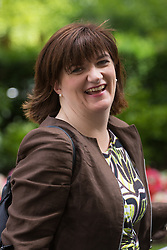 Downing Street, London, July 5th 2016. Education Secretary Nicky Morgan leaves 10 Downing Street following the weekly cabinet meeting.
