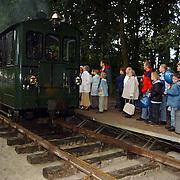Huizerdag 2001, Gooische Stoomtram met passagiers