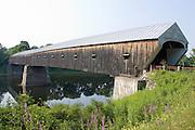 Cornish-Windsor Bridge. Connecticut River. 1866