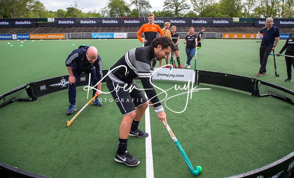 AMSTELVEEN - Deloitte  NK Studentenhockey.  Hockeyclinic olv  B&P College. COPYRIGHT KOEN SUYK