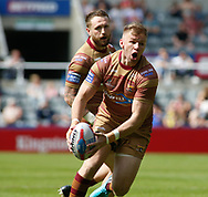 Aaron Murphy of Huddersfield Giants during the Betfred Super League match at the Dacia Magic Weekend, St. James's Park, Newcastle<br /> Picture by Stephen Gaunt/Focus Images Ltd +447904 833202<br /> 20/05/2018