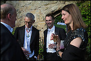 PROVOST WORCESTER COLLEGE PROF JONATHAN BATE; FRED SYKES; PLUM SYKES, The Tercentenary Ball, Worcester College. Oxford. 27 June 2014
