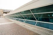 View of the Milwaukee Art Museum, Milwaukee, Wisconsin, USA.