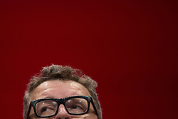 © Licensed to London News Pictures . 25/09/2016 . Liverpool , UK.  TOM WATSON speaks at the ACC in Liverpool Docks , on the first day of the Labour Party Conference . Photo credit : Joel Goodman/LNP