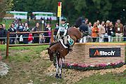 Sarah Ennis, (IRL), Horseware Stellor Rebound - Eventing Cross Country test- Alltech FEI World Equestrian Games™ 2014 - Normandy, France.<br /> © Hippo Foto Team - Leanjo de Koster<br /> 30/08/14