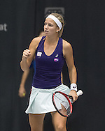 Barbara Haas (AUT) during the WTA Generali Ladies Open at TipsArena, Linz<br /> Picture by EXPA Pictures/Focus Images Ltd 07814482222<br /> 11/10/2016<br /> *** UK & IRELAND ONLY ***<br /> <br /> EXPA-REI-161011-5017.jpg
