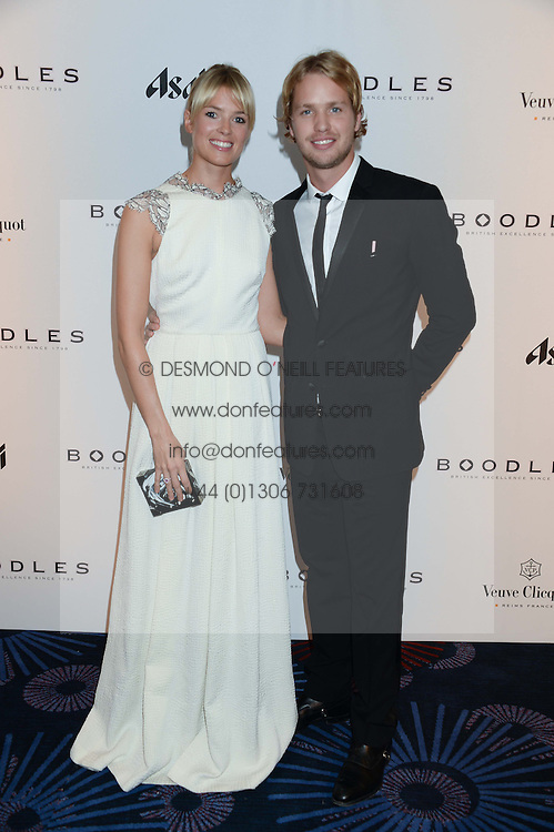 British fine jewellery brand Boodles welcomed guests for the 2013 Boodles Boxing Ball in aid of Starlight Children's Foundation held at the Grosvenor House Hotel, Park Lane, London on 21st September 2013.<br /> Picture Shows:-SAM & ISABELLA BRANSON<br /> <br /> Press release - https://www.dropbox.com/s/a3pygc5img14bxk/BBB_2013_press_release.pdf<br /> <br /> For Quotes  on the event call James Amos on 07747 615 003 or email jamesamos@boodles.com. For all other press enquiries please contact luciaroberts@boodles.com (0788 038 3003)