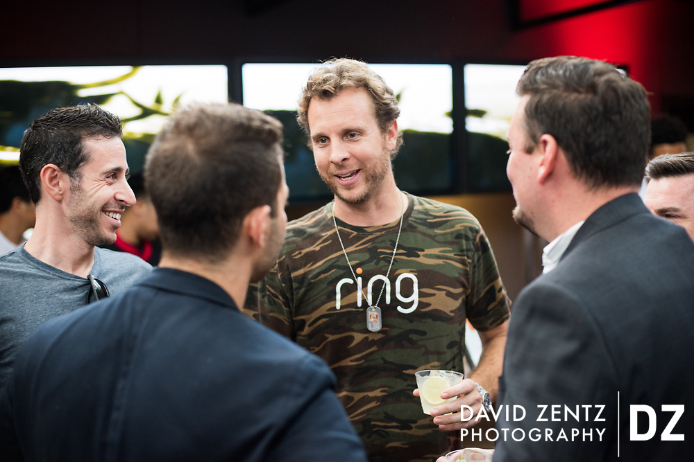 Event photography for the Ring video doorbell and security company in Santa Monica, Calif.
