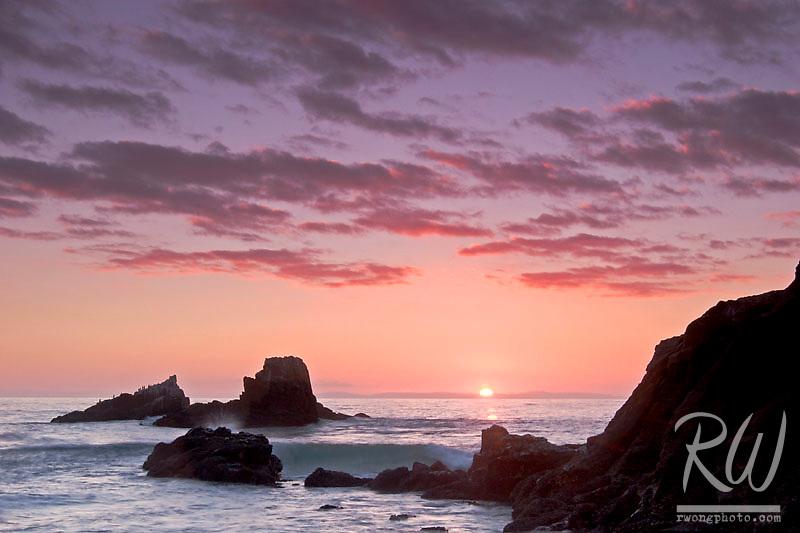 Seal Rocks and Laguna Coastline, Laguna Beach, California