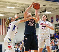 02/03/15 HS Girls Basketball Morgantown vs. Parkersburg South