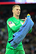 England goalkeeper Joe Hart during the Group E UEFA European 2016 Qualifier match between England and Estonia at Wembley Stadium, London, England on 9 October 2015. Photo by Alan Franklin.