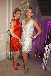 Left to right, HOFIT GOLAN and LIZ FULLER at a party to launch Links of London's Watch Collection at Il Bottacio, 9 Grosvenor Place, London on 25th September 2007.<br /><br /><br />NON EXCLUSIVE - WORLD RIGHTS