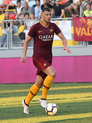 July 20, 2018 - Frosinone, Lazio, Italy - Edin Dzeko during the Pre-Season Friendly match between AS Roma and Avellino at Stadio Benito Stirpe on July 20, 2018 in Frosinone, Italy. (Credit Image: © Silvia Lore/NurPhoto via ZUMA Press)