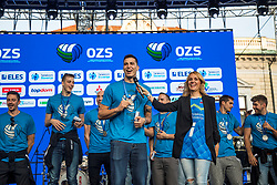 Klemen Cebulj during the Day for the medals: Reception of Slovenian sport heroes on 30.9.2019 on Kongresni square, Ljubljana, Slovenia. Photo by Urban Meglič / Sportida
